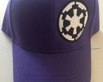 Star Wars inspired Gallactic Empire embroidered hat.