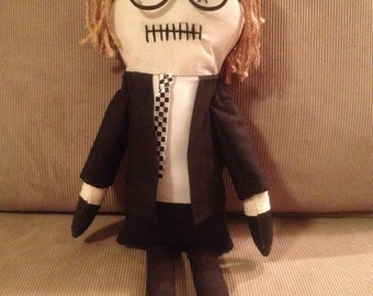 "Johnny - Inspired by George A Romero's ""Night of the Living Dead"" - Creepy n Cute Zombie Doll (D)"