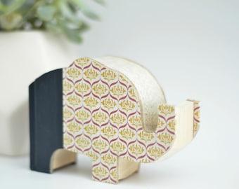Custom Made Ellie the Elephant - Book Shape