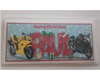 Merry Christmas with Motorbikes
