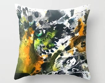 Animal print pillow cover leopard pillow cover pillow case leopard cushion cover leopard pillow cover pet cushion cover leopard cushion