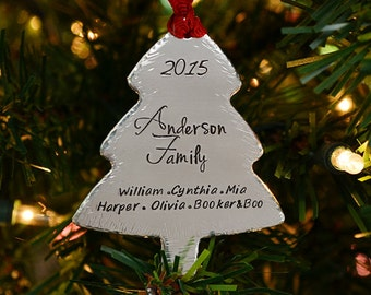 Christmas Ornaments - Handmade Christmas Ornaments - Personalized Christmas Tree Ornaments -
