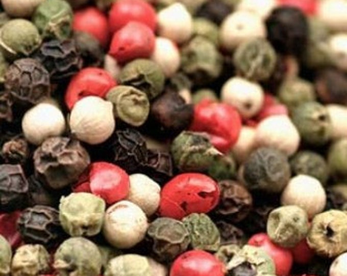 Gourmet 4 Peppercorn Mix - Certified Organic