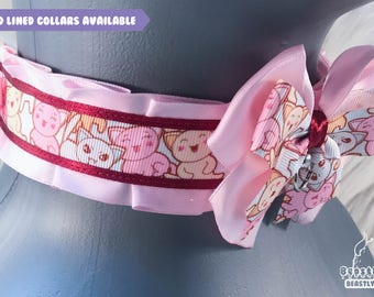 Vampire Kitten Collar, Kitten Play Collar, Pet Play Collar, Choker, Adult Kitten Play Collar, BDSM Collar
