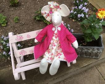 Handmade Fabric Mouse