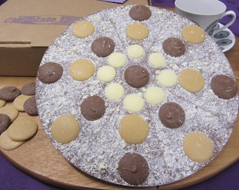 Hello Caramello Chocolate Pizza