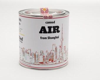 Original Canned Air From Shanghai, gag souvenir, gift, memorabilia