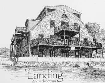 Custom Building Portraits / Custom Building Drawings / Custom Home Portraits