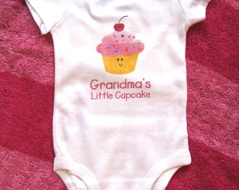Cute Baby bodysuit, Unique Baby clothes, Birthday baby, Cupcake, Cupcake baby clothes, Baby girl, Little girl, Baby girl clothes