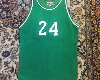 Number 24! Kelly green silky knit sports tank top