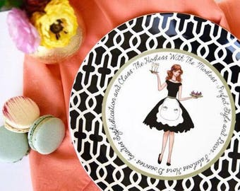 Hostess with The Mostess Ceramic Gift Plate