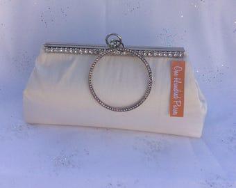 Bridal Clutch Purse/Bridesmaid Purse/Personalised Clutch Purse/Wedding Clutch
