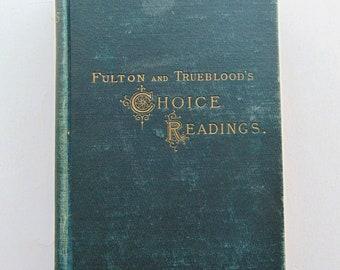 1902 Choice Readings