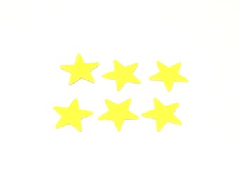 Yellow confetti, Yellow star confetti, Star confetti, confetti, wedding confetti, birthday confetti,yellow confetti, party confetti