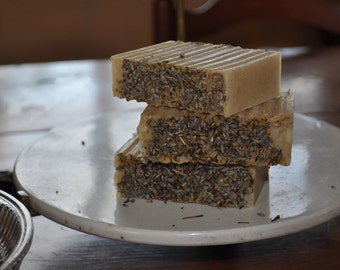 Lavender & Colloidal Oatmeal Artisan made Soap