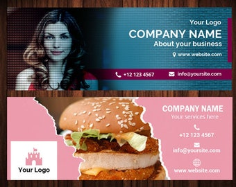 Facebook Timeline - Facebook Cover - Photoshop Template,  - Modern Cover Photographers - Facebook Branding - Photo Template