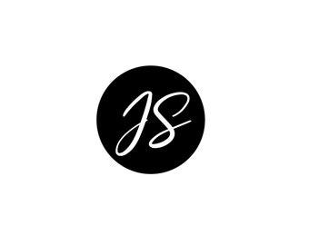 Premade Logo Design |  Logo Watermark | Photography Business Logo | Script Logo | Feminine Logo | Initials Designer Logo | Logo For Business