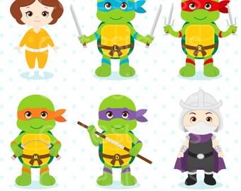 Baby turtle clipart, ninja clipart, Baby Turtle Ninja Clipart, ninja turtle clipart