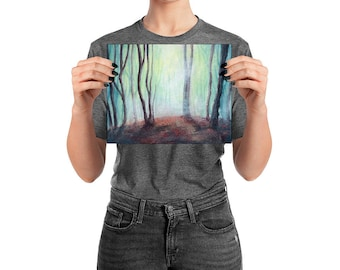 Mythical Forest Fine Art Wall Print