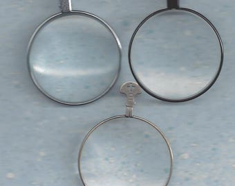 Magnifying Trial or Optical Lenses