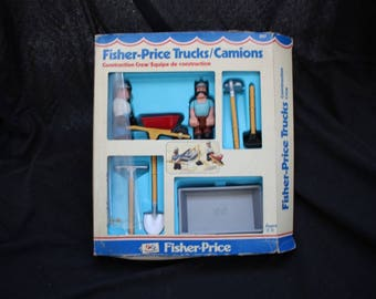 Fisher Price Trucks , Construction Crew