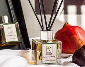 Pomegranate & Plum Luxury Reed Diffuser
