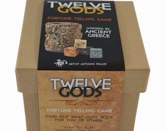 Twelve Gods a fortune telling game