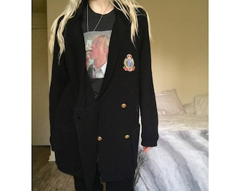 VTG Preparatory Double Breasted Cardigan