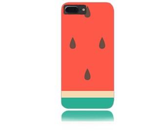 iPhone 7 Plus Case - iPhone 7+ Case - iPhone 7 + Case - iPhone 8 + Case - iPhone 8 Plus Case #Big Watermelon Design Hard Phone Case