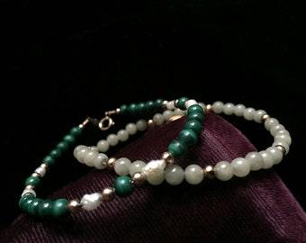 18k Venetian Bracelet Rose Gold Eighteen Karat Yellow White
