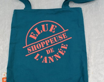 "Tote bag lined handmade ""one image of the year"""