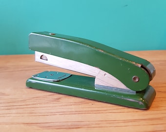 Rexel Meteor Vintage Stapler - Made in England