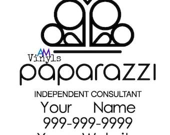 SALE***Paparazzi Vinyl Car Decal, Window sticker. Personalized