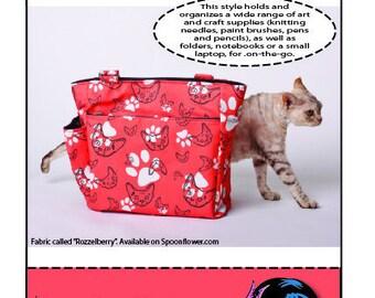 Mackerilla Project Bag Pattern PDF file