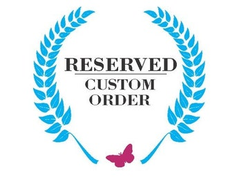 Custom Order Reserved For Tracy - Silhouette topper with 3 pets and 2 little girls