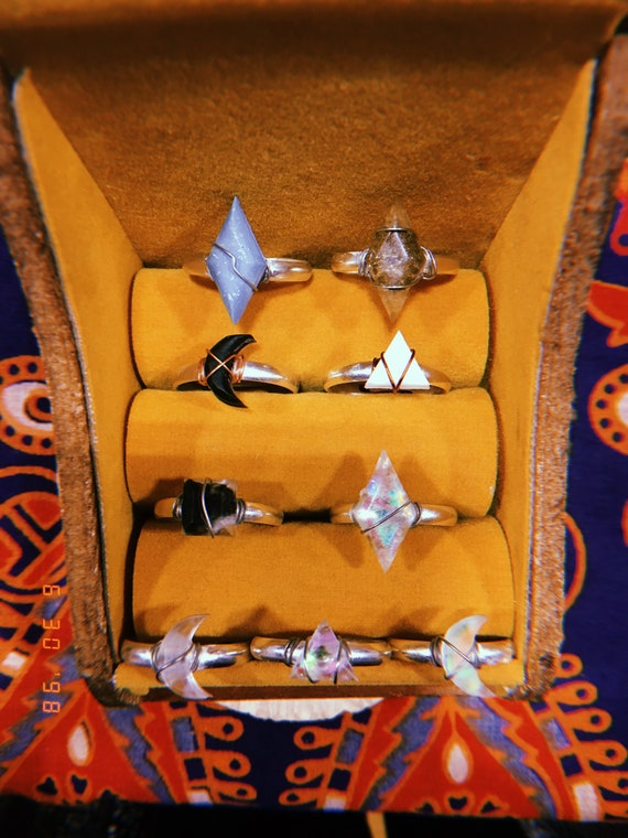 Handgefertigte Ringe