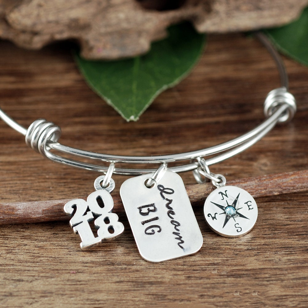 thought bracelet products compass blossoms