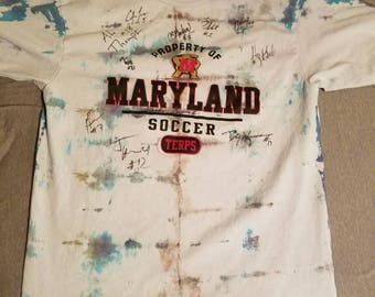 Maryland Soccer tie-dye t-shirt