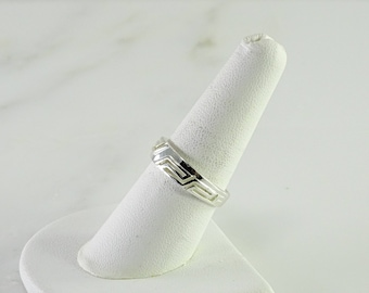 Sterling Stack Ring Size 8