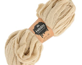 large Handy DMC wool - knit with Beige x150g hands
