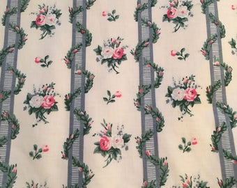 Schumacher Lined Pair of Curtains