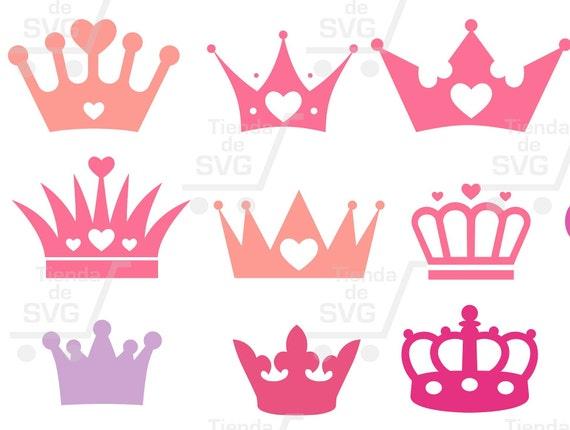 Coronas, Coronas Svg, Coronas De Reina, Princesas Svg