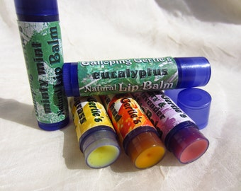 2 for 5 Natural Lip Balm tubes - assorted flavors