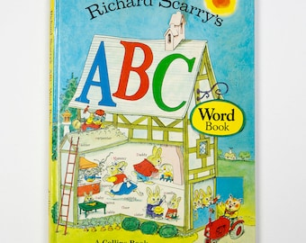 Richard Scarry's ABC Word Book, 1974