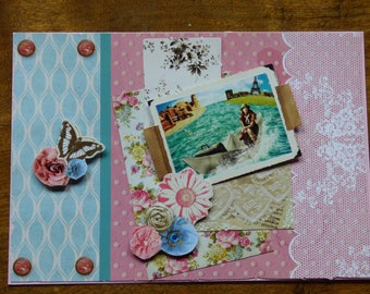 MAP THEME 'HOLIDAY GIRLY' EMBOSSED