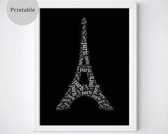 Paris Wall Art, Paris Posters, Paris Prints, Paris Poster Prints, Eiffel Tower Prints, Paris Instant Download, Paris Printable, Modern Art