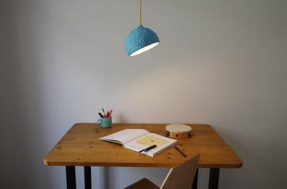Pappmaché-Lampe Globe Lampe Pappmaché Hängelampe