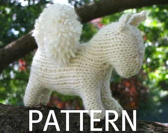 Squirrel Knitting Pattern (PDF), Immediate Download