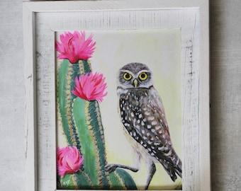 Desert Owl Fine Art Print