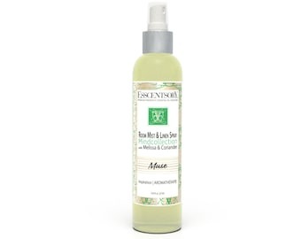 MUSE Room Mist & Linen Spray | Home Fragrance | Melissa and Coriander | Air Freshener | Pure Essential Oils | Aromatherapy